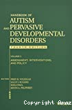 Handbook of Autism and Pervasive Developmental Disorders - Fourth Edition - Volume 2: Assessment, Interventions, and Policy