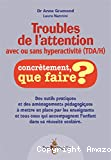 Troubles de l'attention avec ou sans hyperactivité (TDAH)